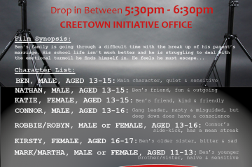 creetown youth film auditions