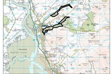 Creetown Land Management Map